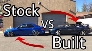 Alex And His Built WRX Called Me Out... | ValeeMeetz