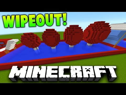 Minecraft 1v1 TOTAL WIPEOUT RACE! (Obstacle Course & Parkour 1.9.4!) | with Preston & Landon