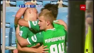 Черноморец - Карпаты - 0:1. Гол Швед (14