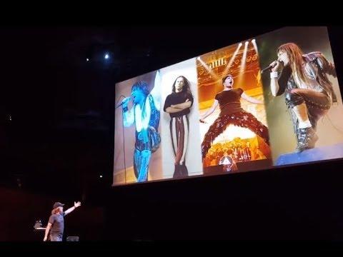 Iron Maiden vocalist Bruce Dickinson's full spoken word show posted from Denmark..!