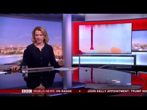 BBC World News - North Korea missile test