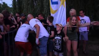 KABANOS z Leszkiem Pszenicą na Rock na Bagnie (03.07.2015)