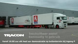 Tracon Trailers Ecocombi LZV: Combitrain voor Huybregts