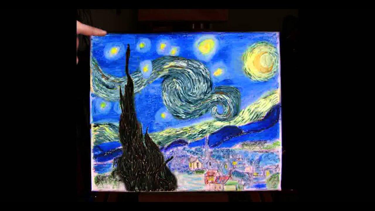 nike chaussures discount gros - Reprise de \u0026quot;La nuit ��toil��e\u0026quot; de Vincent van Gogh - YouTube
