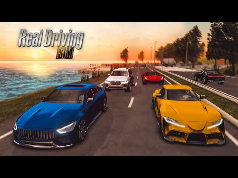 Real Driving Games >> Real Driving Sim Trailer Android Ios 2019 Youtube