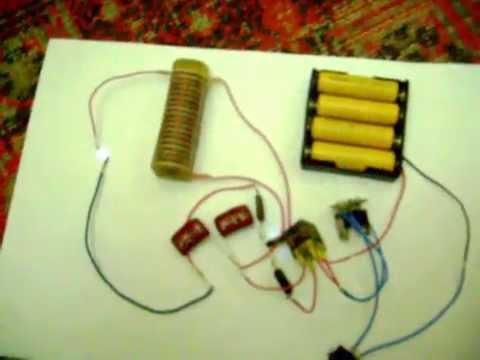 Схема электрошокера .AVI