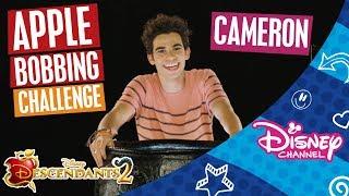 Descendants 2 Apple Bobbing Challenge Cameron Official Disney Channel