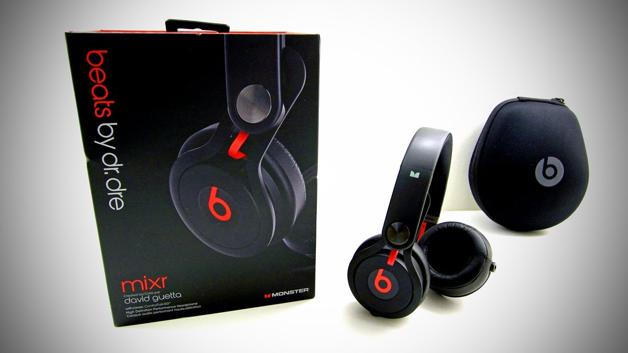 Beats By Dr Dre Beats MIXR Unboxing - YouTube 472b5ec61c6c
