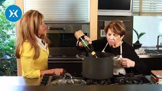 Greg And Cathe Learn To Make Real Italian Spaghetti Sauce