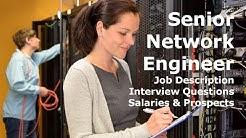 Senior Network Engineer Salary Interview Job Description Career
