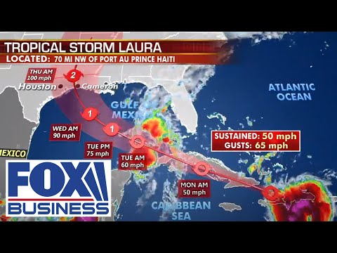Fox Extreme Weather Center: Tracking Tropical Storm Laura | 8/23/20