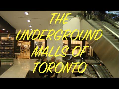 Underground Malls Of Toronto (Bloor - Yorkville)