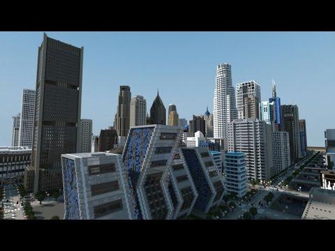 Строительство Города в MINECRAFT [Часть#1] HD1080p