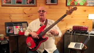 This is the next lesson in jazz walking bass series. 2 we learn 1/2 step approach. concept makes your lines sound like ja...