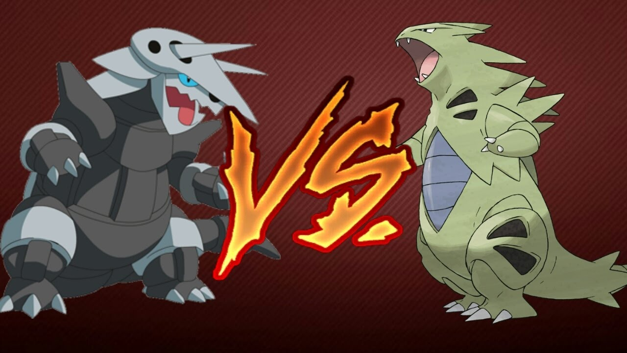 Aggron VS Tyranitar (Pokemon Emerald) - YouTube
