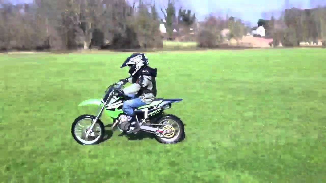 Kx65 top speed - YouTube