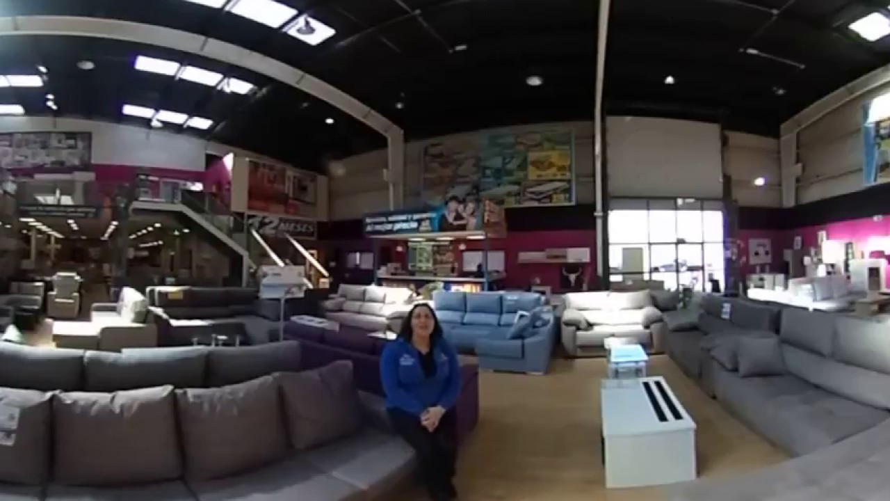 Presentacion 360º De Tienda Muebles Ahorro Total Parla Youtube