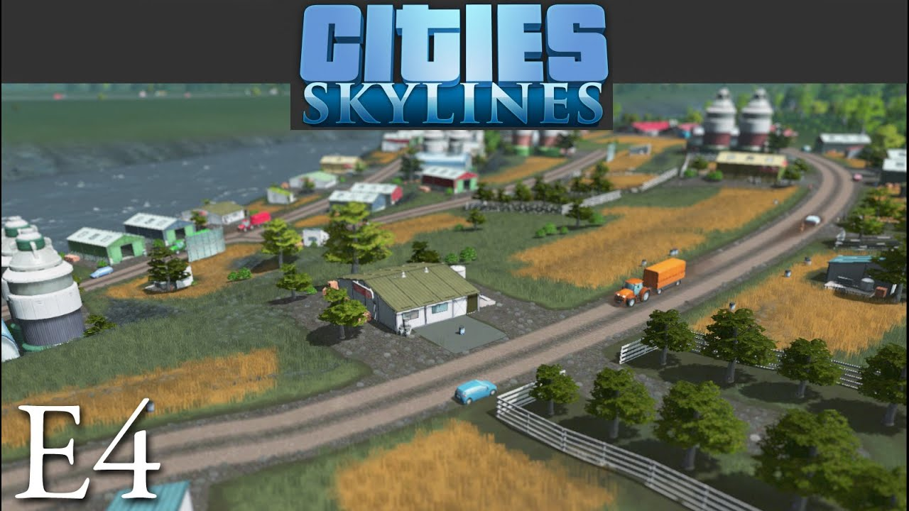 how to build agriculture in cities skylines