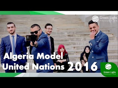 Algeria Model United Nations 2016 (Official Clip)