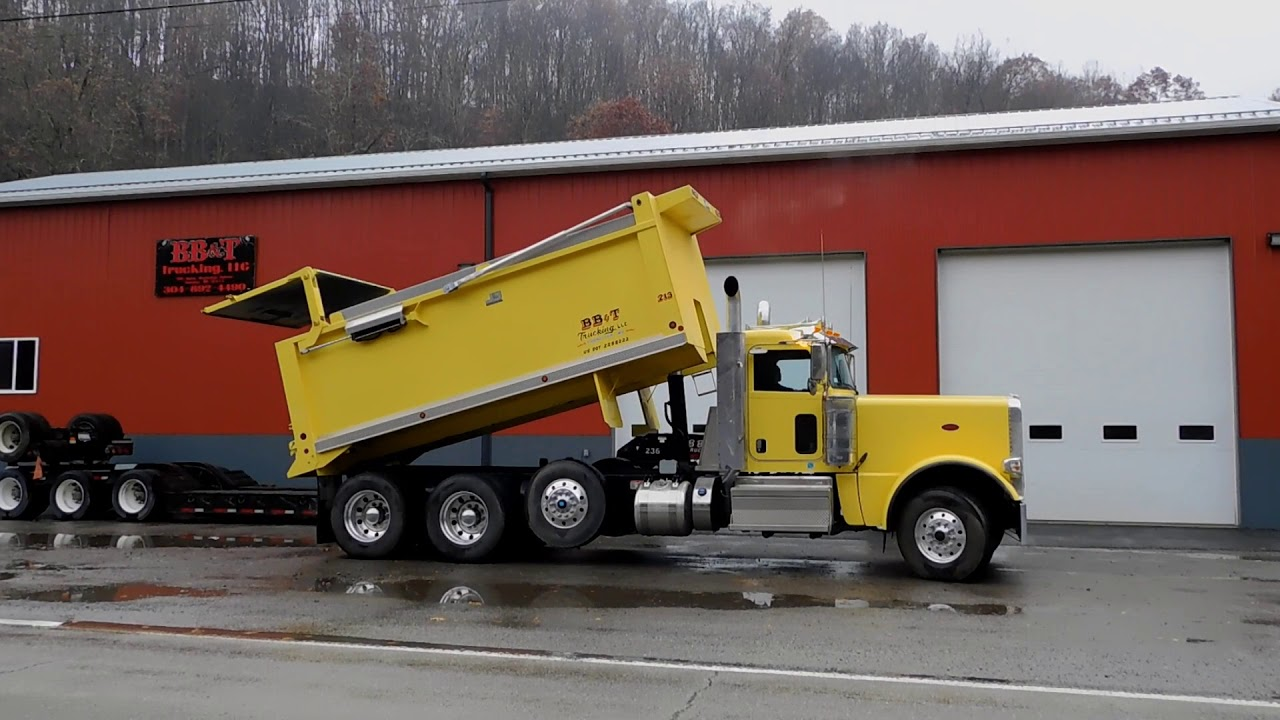 2018 Peterbilt 389 TriA Dump Truck DA0347