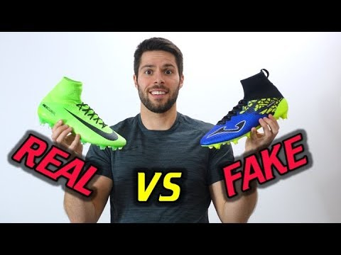60c7af97d REAL VS FAKE! - Nike Mercurial Superfly 5 vs Joma Champion Max - YouTube