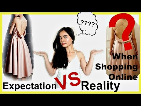 Expectation VS Reality When Shopping Online w/SammyDress
