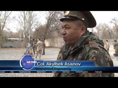 Air Force Report: EOD Exchange, Manas Air Base, Kyrgyzstan.