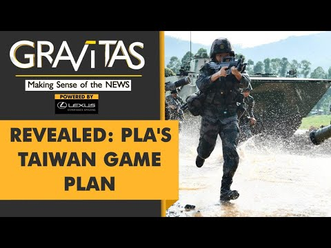 Gravitas: China is preparing 4 military campaigns to take Taiwan