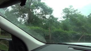 Freelander 2 driving cross tea estate in Sri Lanka (Offroad)