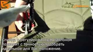 Кресло рыболовное Norfin WINDSOR NF-20601 tochka-zabrosa.ru