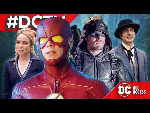 DCTV: Flash's New Suit, Arrow's Identity Exposed, Legends Joins the Circus