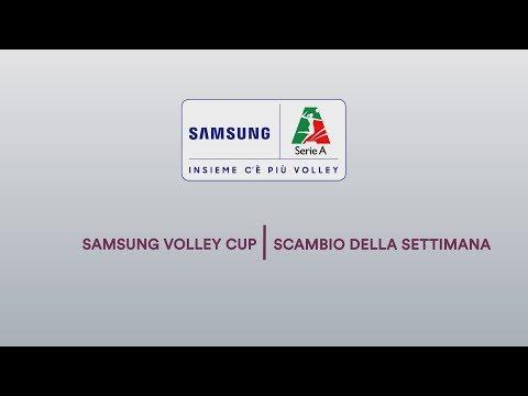 Scambio Della Settimana | Gara-3 Finali Scudetto | Samsung Volley Cup 2018/19