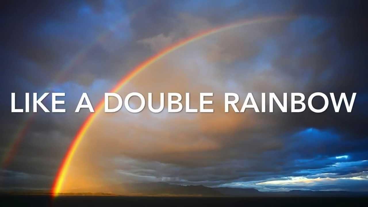 Double Rainbow Katy Perry Lyric Video Youtube