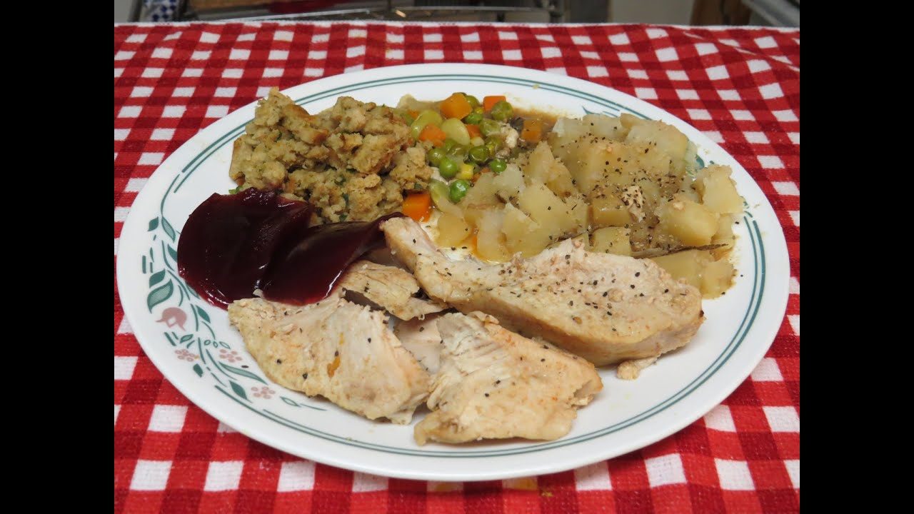 How to cook a complete turkey dinner in the crock pot slow cooker how to cook a complete turkey dinner in the crock pot slow cooker youtube forumfinder Choice Image