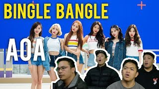 """AOA """"BINGLE BANGLE"""" (MV Reaction) - Stafaband"""
