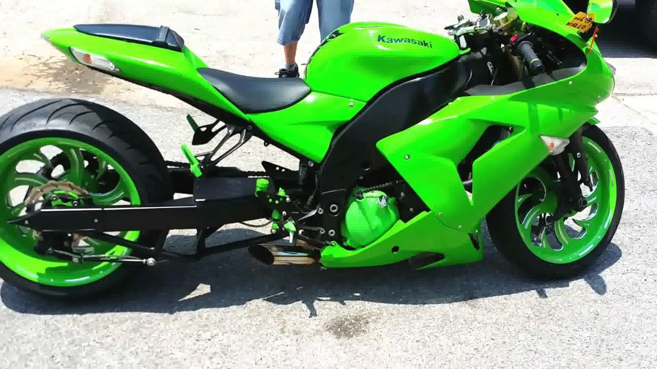 Modifikasi Ninja Zx10r 1000cc Ban Super Besar