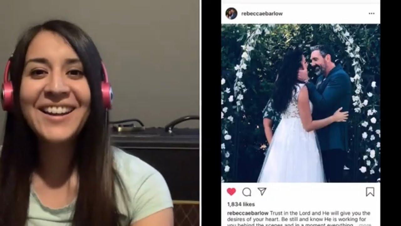 Big news! Rebecca Barlow got married! Yay! - YouTube