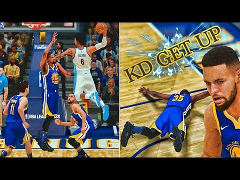 Dunking On The Entire Warriors Team |...