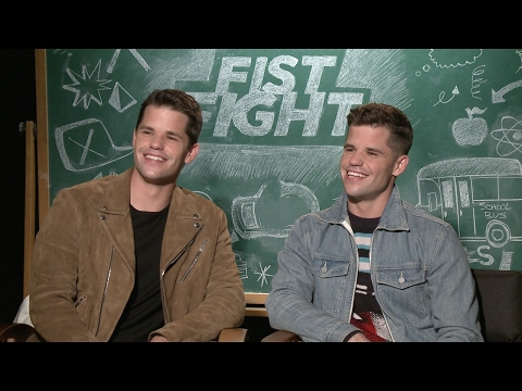 Max & Charlie Carver Interview - Fist Fight | Senior Pranks & Fist Fighting!