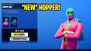 *NEW* Item Shop..!! HOPPER SKIN! Showstopper & Dance Therapy EMOTES! - Fortnite April 18