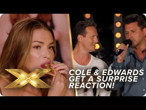 Cole & Edwards get a SURPRISE reaction to 'Love At First Sight' | X Factor: Celebrity