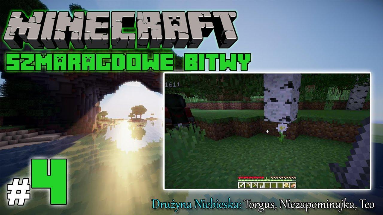 """Minecraft: Szmaragdowe Bitwy [Drużyna Niebieska] odc. 4 – """"Znaki na niebie i ziemi…"""""""