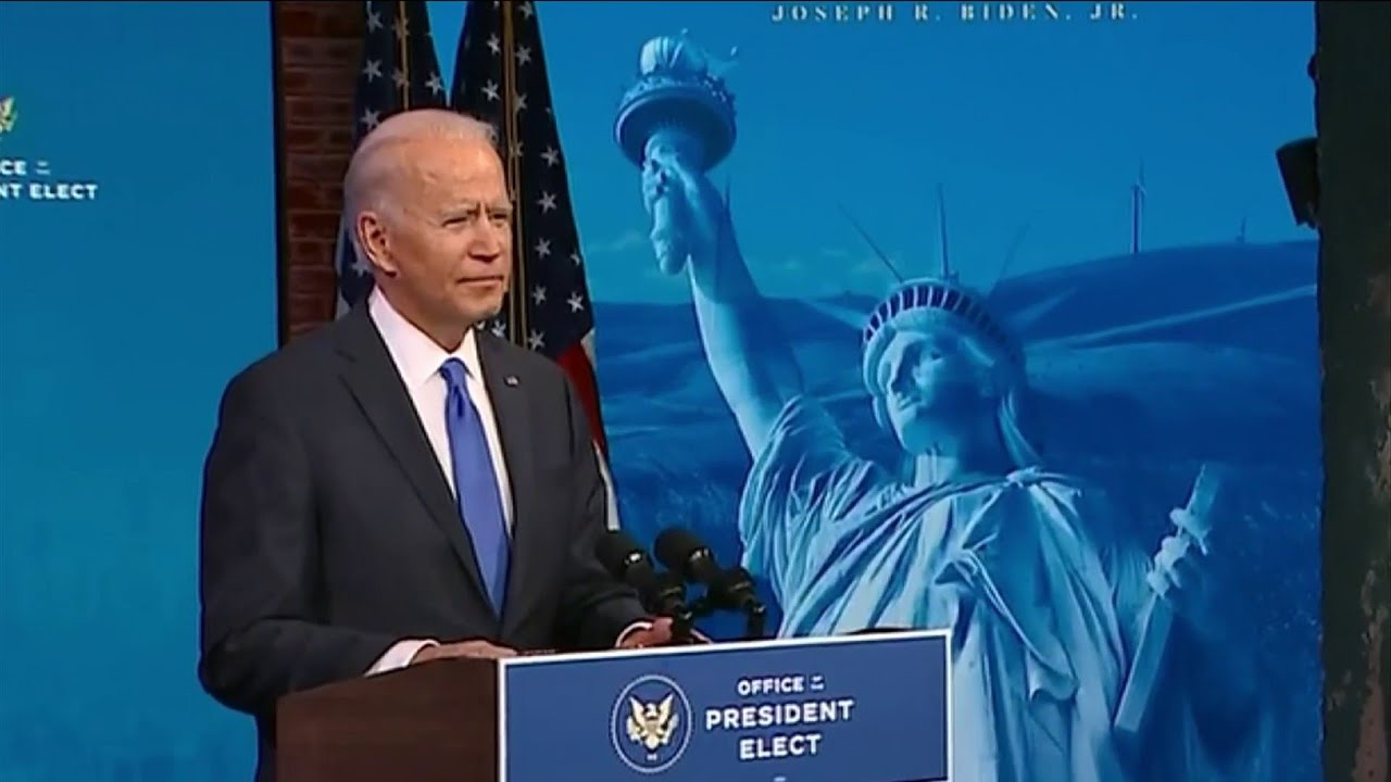 Download 'Democracy prevailed': Biden aims to unify divided nation