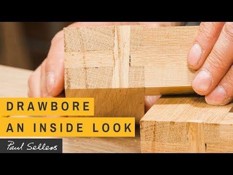 Drawbore - An Inside Look | Paul Sellers