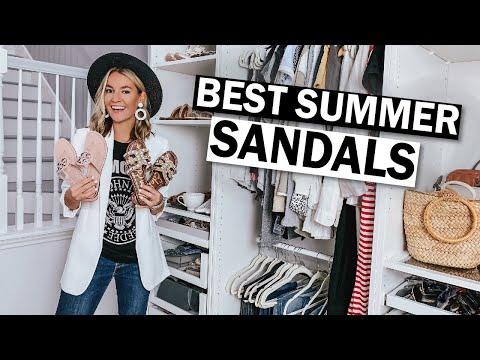 Summer Sandals 2019 Haul: Summer Sandals Try On | Lee Benjamin