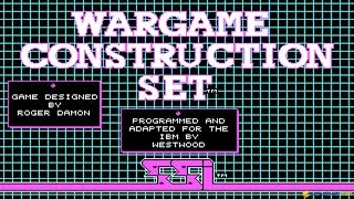 Wargame Construction Set gameplay (PC Game, 1986)