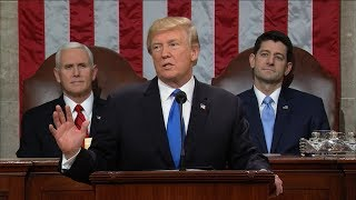 7 notable lines from Trump's 1st State of the Union address