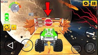 Real Monster Truck Stunts - 4x4 Monster Truck Simulation Games - Android Gameplay #2