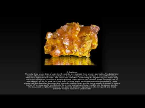 5 Most Deadly Rocks and Minerals