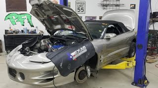 Sketchy LS build! Texas Speed 427!!